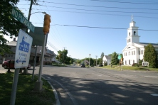 North Amherst Village center is located just north of the UMass campus