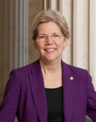 Senator Elizabeth Warren (public domain photo).