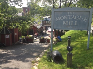 The Montague Mill is located just outside Montague's town center.