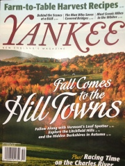 The cover of the September/October edition of Yankee Magazine.