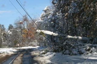 An October Nor'aster left thousands in the Pioneer Valley without power for over a week.