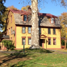 The Simeon Strong House, home of the Amherst Historical Society and Museum.