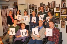 The Kestrel Land Trust thanked donors with this photograph.