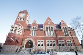 Amherst's town hall is a Richardsonian Romanesque building built in 1889. Call Michael Seward at 413-531-7129 if you are planning on buying or selling a home in Amherst or surrounding communities.