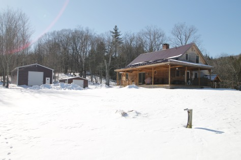 This home has about 1700 sq.ft., two metal buildings for your cars and toys, and 37 acres of land.