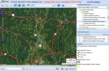 A look at the Massachusetts Priority Habitat GIS Map overlay that shows how of the valley has been designated a priority habitat.